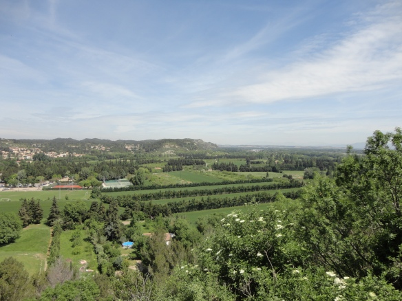 beautiful, lush countryside of Provence - and it's only May!