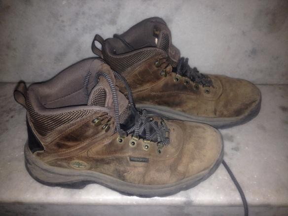 trekking boots - goodbye :(