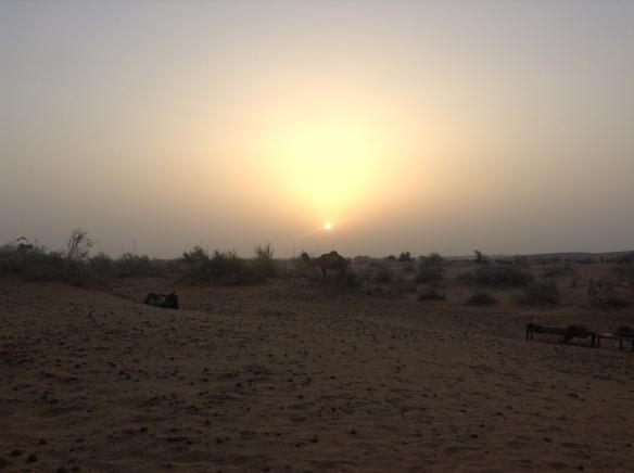 Thar Desert sunrise